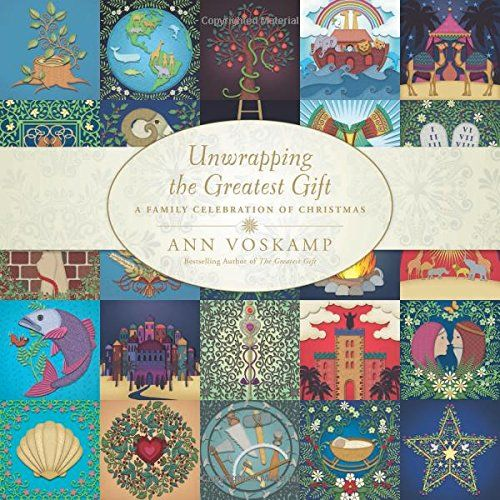 Unwrapping the Greatest Gift: A Family Celebration of Christmas by Ann Voskamp http://smile.amazon.com/dp/1414397542/ref=cm_sw_r_pi_dp_Y9gjub1EP7HX5