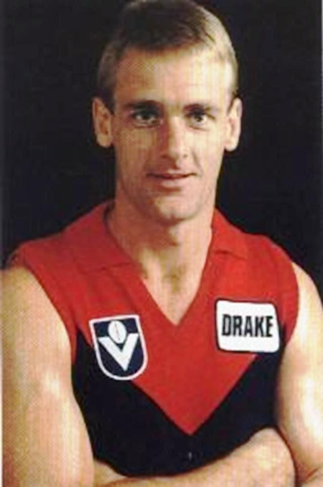 Peter Moore. Played 1974-1987. Games Collingwood 172, Melbourne 77. Brownlow medals 1979, 1984.