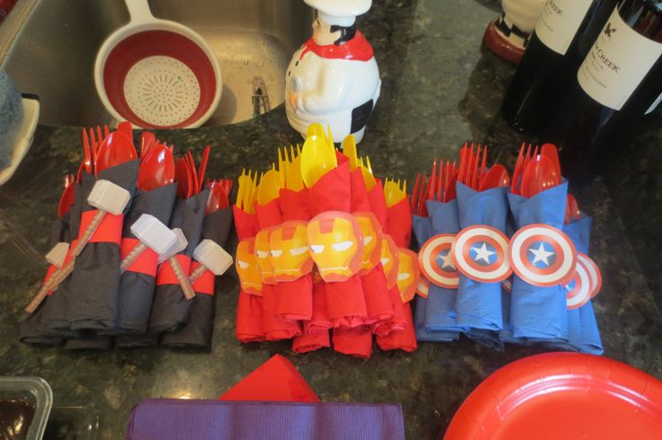 Avengers Party Bundle  Superhero Party Pack by JJsPersonalTouch, $60.00