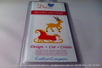 Reindeer & Sleigh Cutting Die