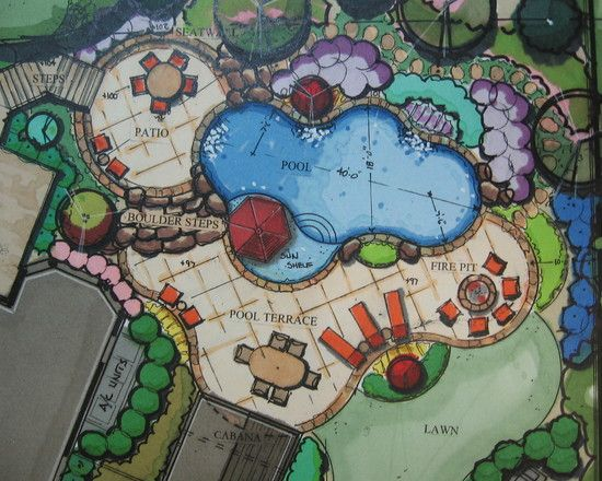 Traditional Freeform Pool Design Design, Pictures, Remodel, Decor and Ideas