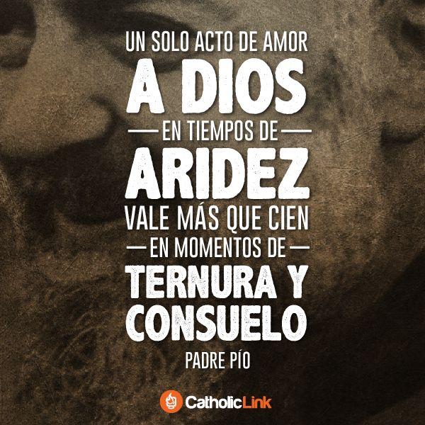 Biblioteca de Catholic-Link - Un solo acto de amor a Dios Padre Pío