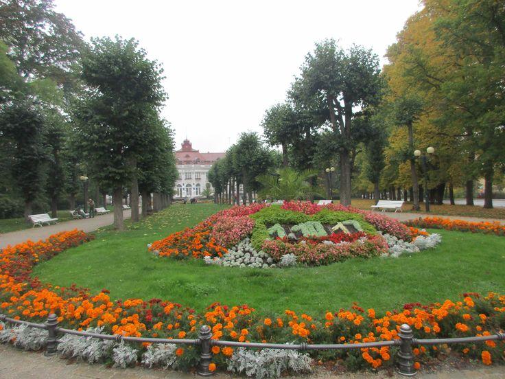 Park v Karlových Varech - Česko