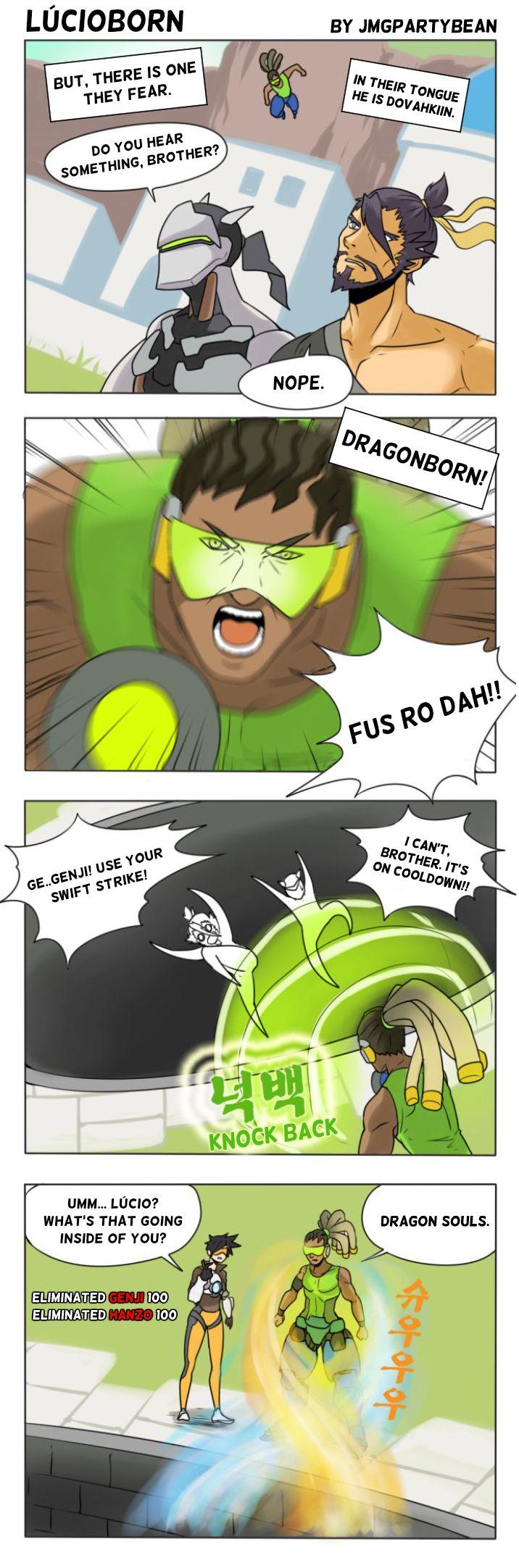 Lúcioborn | Overwatch | Know Your Meme
