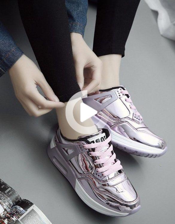 Zippered Double Secret Heel Sneakers