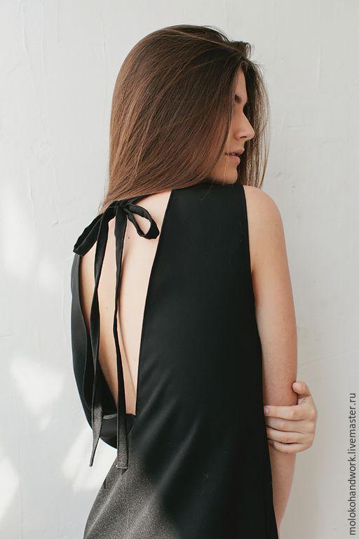 Платье с открытой спиной - мастерская Moloko - Ярмарка Мастеров