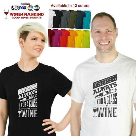 Funny wine matching couple tee-TSL02.Statement by Wine4Mankind