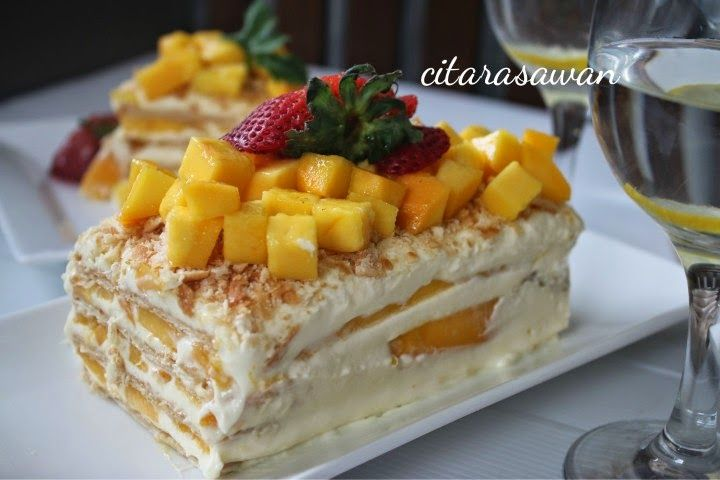 Mango Float ~ Resepi Terbaik
