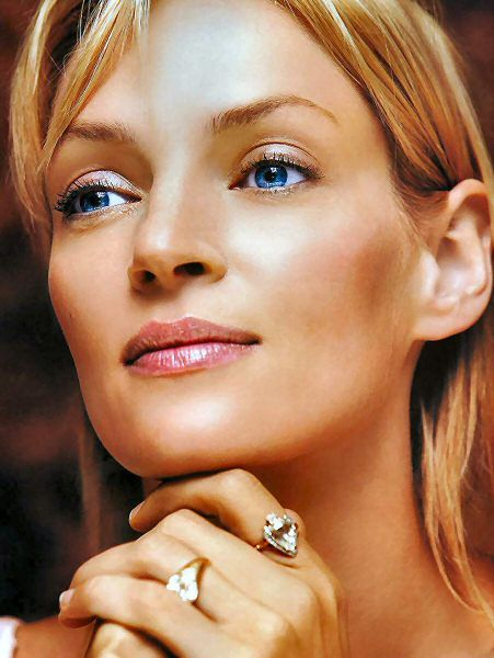 The 10 Strangest Looking Actresses in Hollywood Uma Thurman