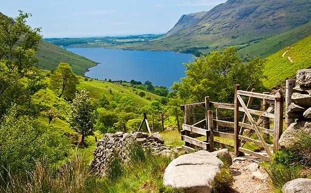 Scafell Pike is England's highest mountain