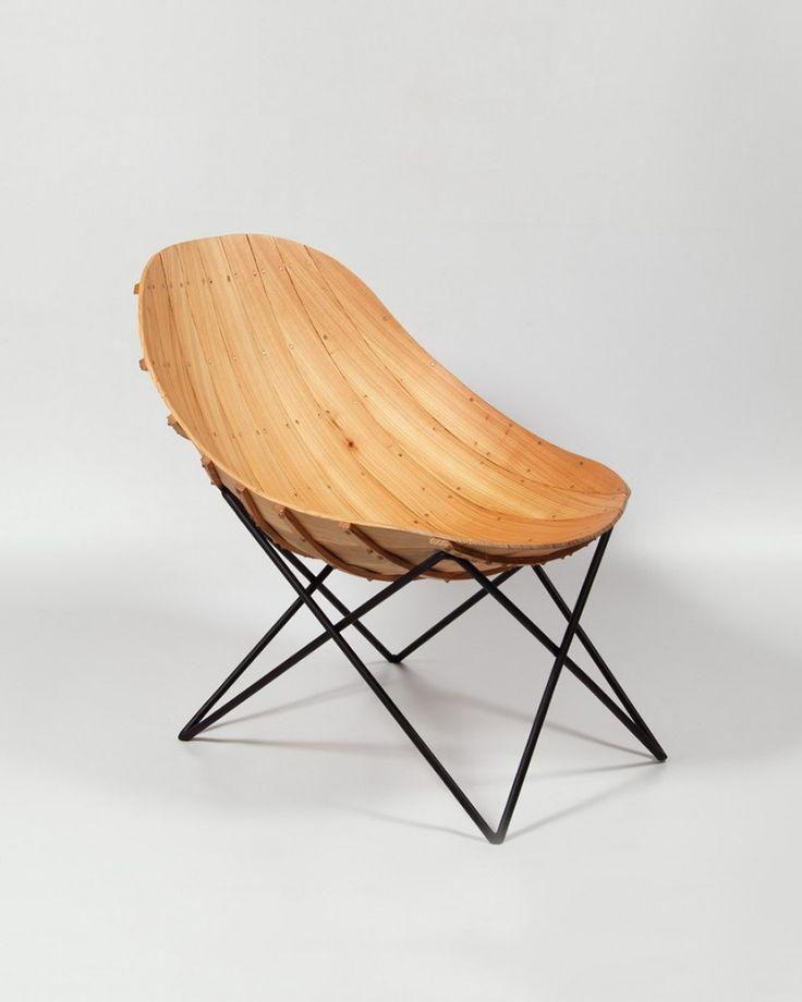 A veces hay diseños que me dejan con los ojos clavados y la boca abierta: Carvel Chair....