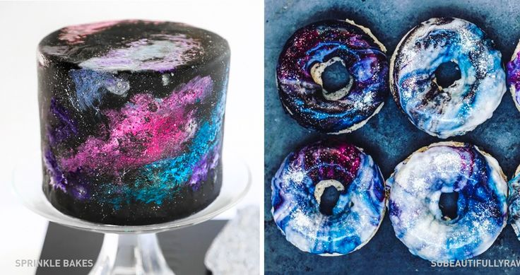 13 ideas for how to turn common desserts into galactic masterpieces
