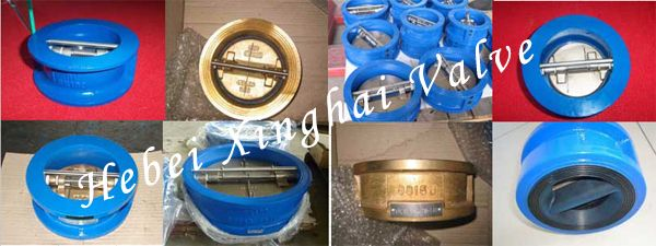 Wafer Check Valve with competitive price New structure GG25/GGG40/GGG50 Cast Iron