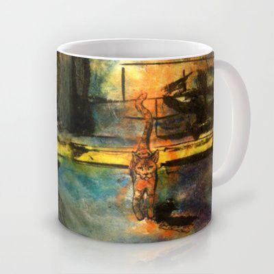Street Cat Mug by Priscilla Moore - $15.00