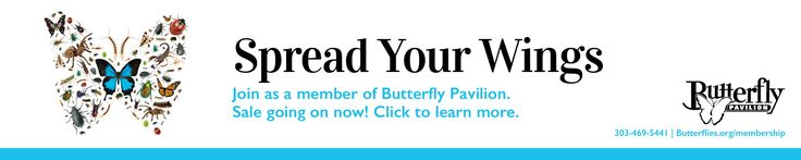 Individual or couple membership to the Butterfly Pavilion