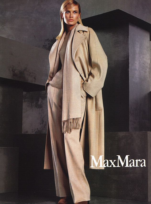 Always dreamt of a coat from Max Mara. And I'll keep dreaming.