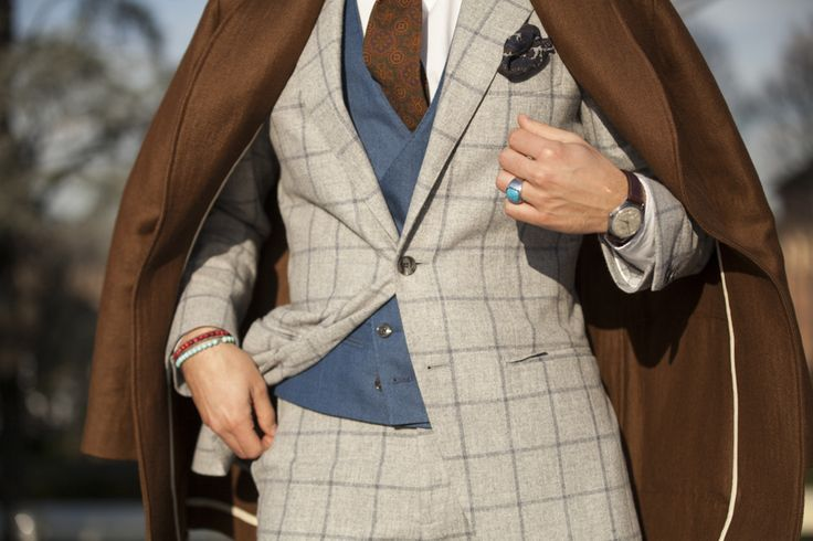 """Ninth picture in Frank Gallucci's blog post """"First day at Pitti""""."""