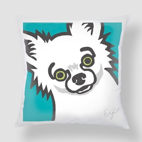 こちらへ→http://elmundogris.com/ #dog #chihuahua #チワワ #love #happy #ロングコートチワワ #ロングコートチワワ部 #いぬ #犬 #アート #イラスト #かわいい #cute #ハッピー #love #癒し #ちわわ部 #ちわわ #YOLO #follow #愛犬 #tbt #instadog #lovedogs #canvasart #dogart