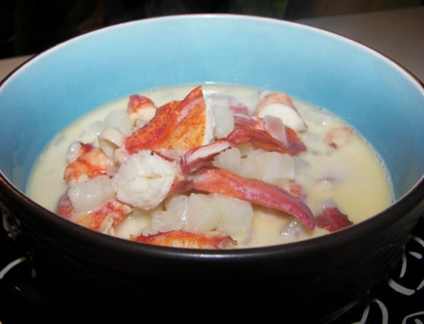 Old Style Lobster Chowder  								This recipe comes from the Lunenberg Hospital Cookbook and is considered a collector's item in the Canadian Maritimes. I haven't tried it yet, but is sounds really good and looks relatively simple to make.