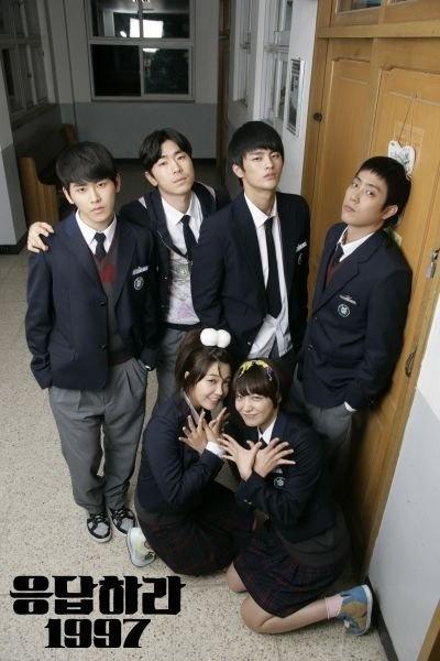 Answer Me 1997 / Reply 1997, starring Jung Eun Ji, Seo In Guk, Eun Ji Won, Hoya, Sung Dong Il, and Lee Il Hwa #kdrama