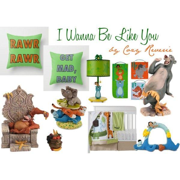 Disney Baby Jungle Book Nursery Boy