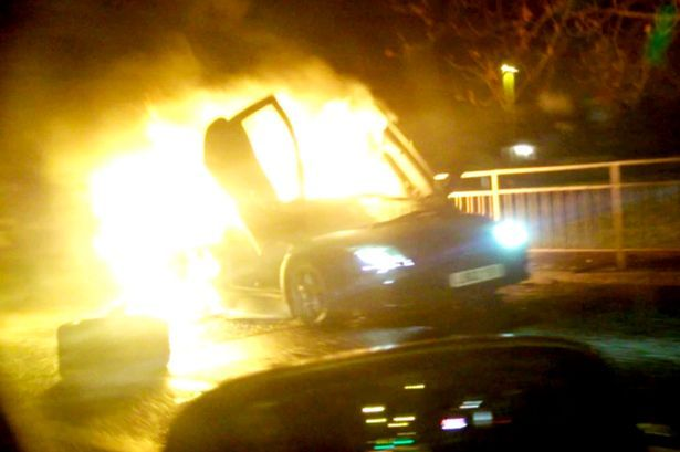 A 29 year old crashed his bosses £200k Lamborghini Murcielago after taking it for a cocaine fuelled joy ride.  SWNS The driver, Cary Atkins, smashed his bosses Murcielago straight into a set of railings and then left the poor helpless supercar to burst into flames.  SWNS This wasnt just any old Lamborghini, It was a limited edition Purple Lamborghini Murcielago SV. Luckily no one was hurt and the driver was covered for insurance under his bosses company policy. Cary was disqualified from…