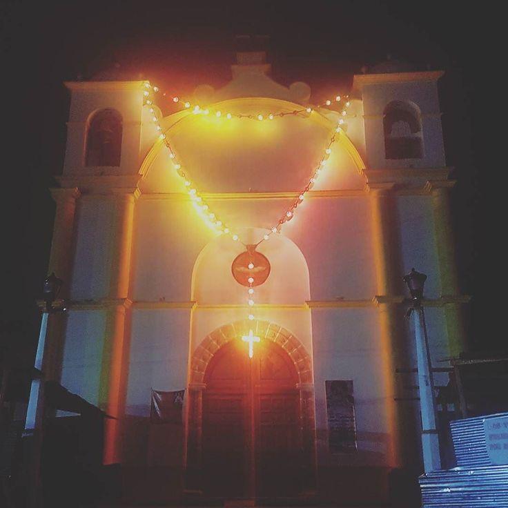 Iglesia Virgen de Plata de Candelaria #chiantla #occidentecity