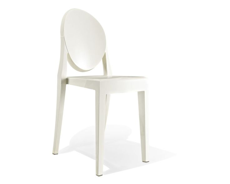 ghost side chair victoria ghost chairs chairs and philippe starck. Black Bedroom Furniture Sets. Home Design Ideas