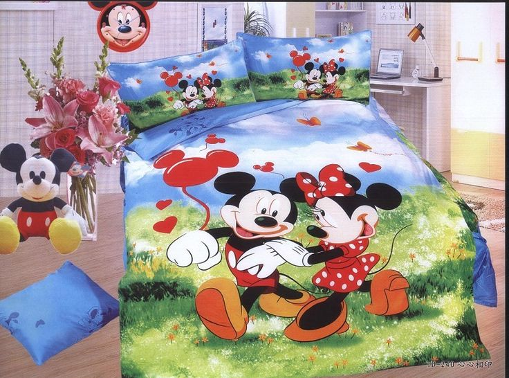 17 migliori idee su biancheria da letto ragazzo su pinterest camere da letto del bambino - Completo letto minnie e topolino ...