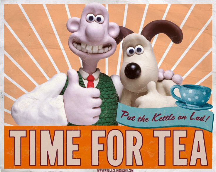 Wallace and Gromit are Brizzies