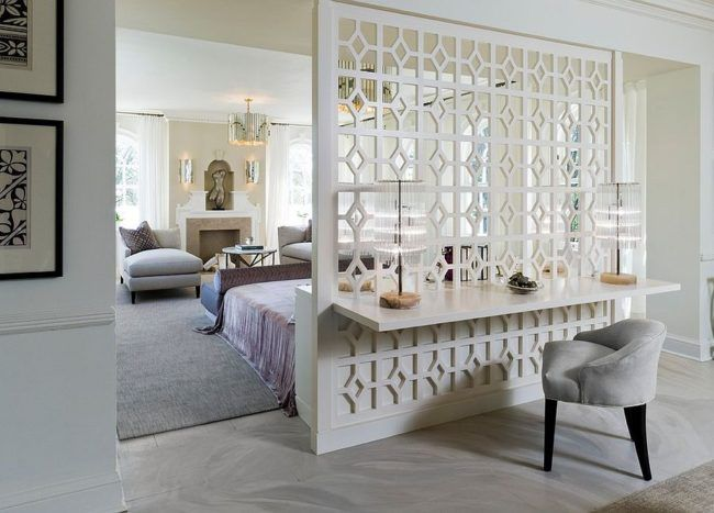 15 Creative Room Dividers for the Space-Savvy and Trendy Bedroom. DIY #masterbedroom