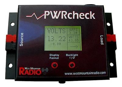 Other Ham Radio Equipment: West Mountain Pwrcheck Pwrcheck Analyzer Watt Mtr Voltage Monitor -> BUY IT NOW ONLY: $170.74 on eBay!