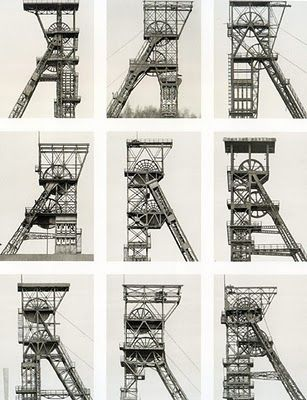 COMPOSITION BERND AND HILLA Winding Towers