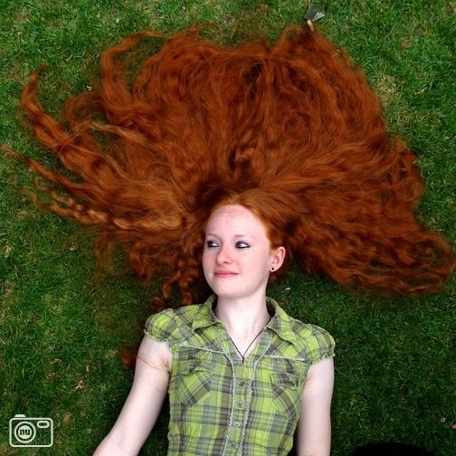 Duits lang rood haar