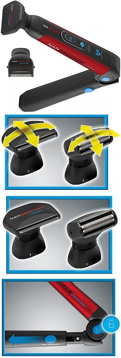 Mens Shavers: Mangroomer Lithium Max Back Shaver With 2 Shock Absorber Flex Heads, Power -> BUY IT NOW ONLY: $72.49 on eBay!