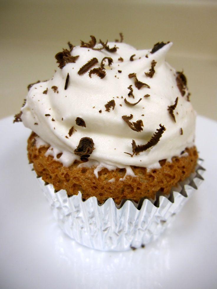 Ambition: Cappuccino Angel Food Cupcakes | weight watcher food ...