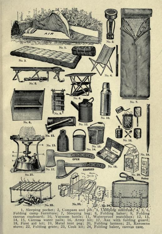184 Best Camping Vintage Images On Pinterest