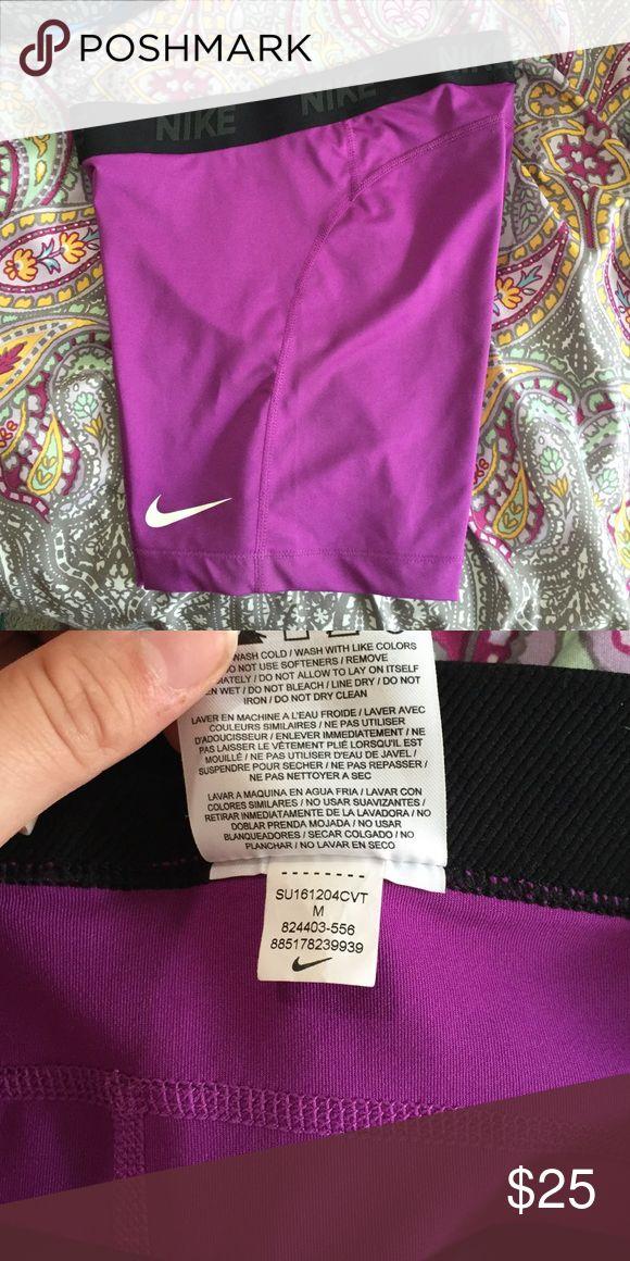 Nike Spandex Shorts Women's Nike Cool Victory Bade Layer Workout Shorts. Medium. Hardly Worn. Nike Shorts