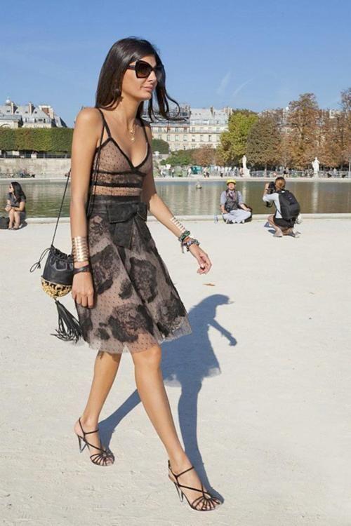 Giovanna Battaglia - editor of L'Uomo Vogue, stylist and contributing fashion editor at W magazine