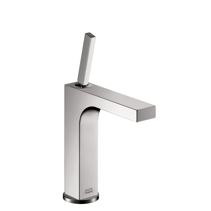 Hansgrohe 39031001 Chrome Axor Citterio Bathroom Faucet Single Hole Faucet with Lever Handle