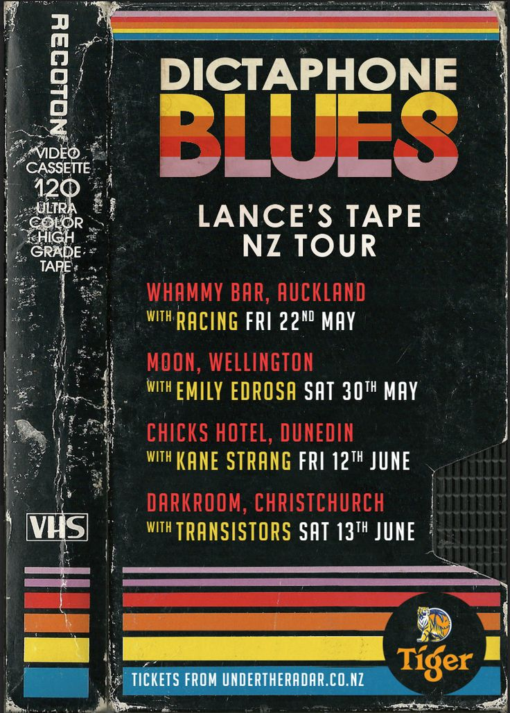 Dictaphone Blues are hitting the road again... #DictaphoneBlues #13thfloor #LancesTape D Blues-Lances Tape Tour