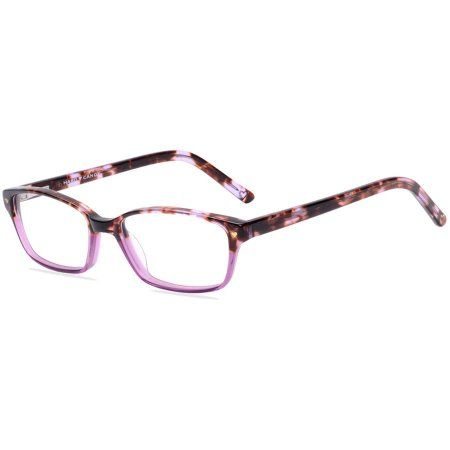 Hard Candy Womens Prescription Glasses, HC07 Tortoise Purple ...
