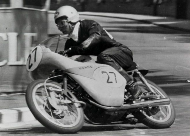 Teisuke Tanaka / RC142 (1959 The Isle of Man TT)