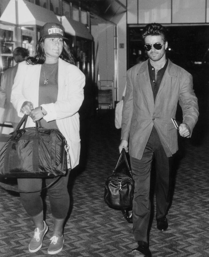 George with his older sister Melanie