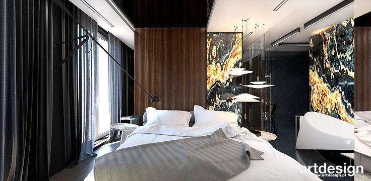WELCOME TO THE JUNGLE | II | Wnętrza apartamentu | Projekt sypialni