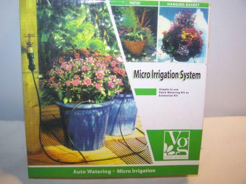 New Village Gardner Micro Irrigation System Auto Watering Kit or Extension Kit