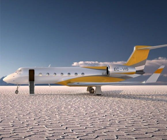 The $60,000,000 Million iPad-Controlled Gulfstream G550 Private Jet