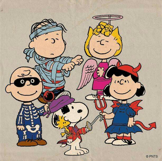 the peanuts halloween - Charlie Brown Halloween Cartoon