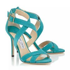 Image result for aqua wedding shoes