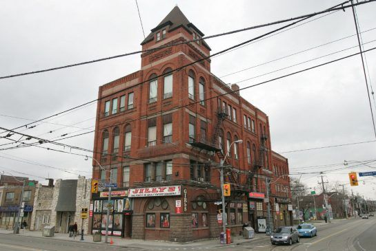 -streetcar developments has bought Jilly's to make a condo out of it with new floors added to the old building.